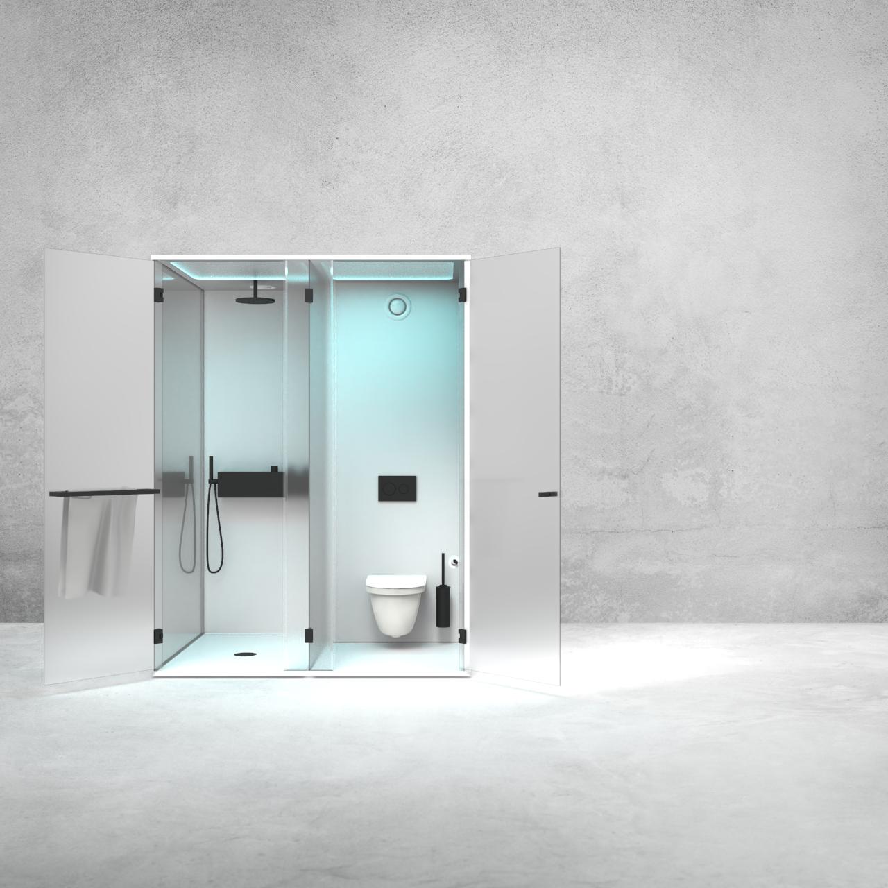 Prefab modulaire badkamer, Saniskill