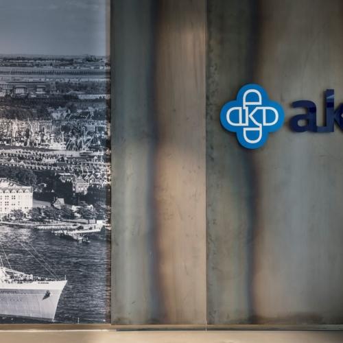 Maatwerk interieur AKD Rotterdam