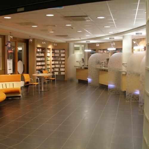 interieurbouw apotheken en gezondheidscentra